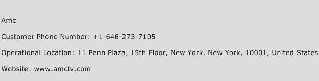Amc Phone Number Customer Service