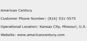 American Century Phone Number Customer Service