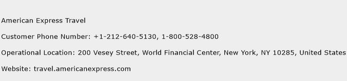 American Express Travel Phone Number Customer Service