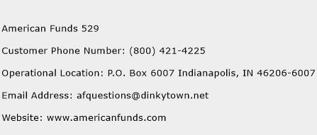 American Funds 529 Phone Number Customer Service