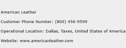 American Leather Phone Number Customer Service