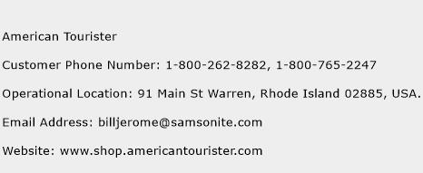 American Tourister Phone Number Customer Service