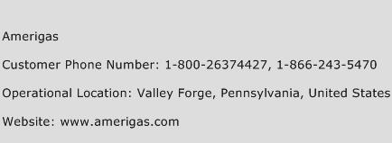 Amerigas Phone Number Customer Service