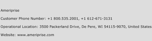 Ameriprise Phone Number Customer Service