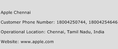 Apple Chennai Phone Number Customer Service