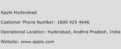 Apple Hyderabad Phone Number Customer Service