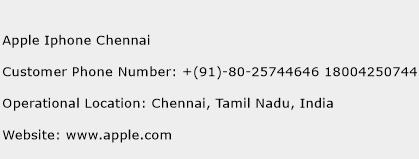 Apple Iphone Chennai Customer Care Number | Toll Free Phone Number ...