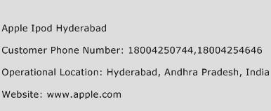 Apple Ipod Hyderabad Phone Number Customer Service