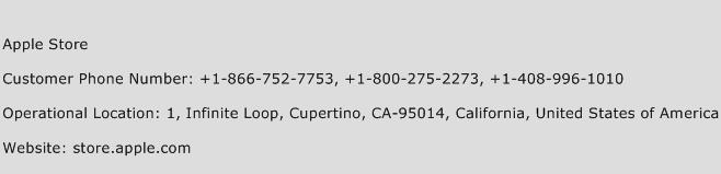 Apple Store Phone Number Customer Service
