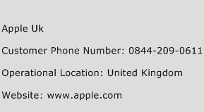 Apple UK Phone Number Customer Service