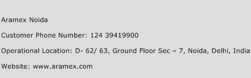 Aramex Noida Phone Number Customer Service