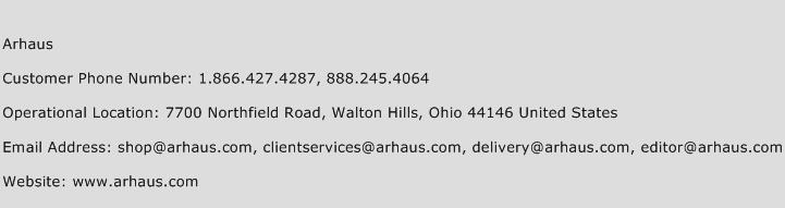Arhaus Phone Number Customer Service