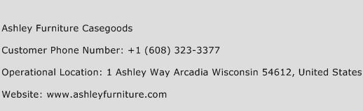 Ashley Furniture Casegoods Phone Number Customer Service