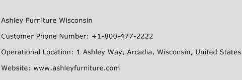 Ashley Furniture Wisconsin Phone Number Customer Service