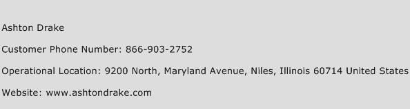 Ashton Drake Phone Number Customer Service