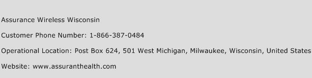 Assurance Wireless Wisconsin Phone Number Customer Service