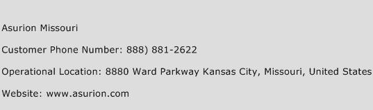 Asurion Missouri Phone Number Customer Service