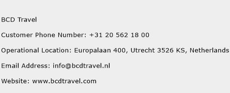 BCD Travel Phone Number Customer Service