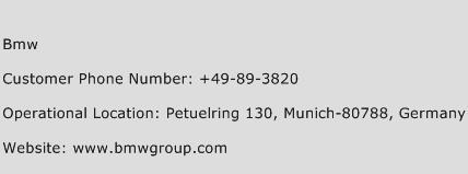 BMW Phone Number Customer Service