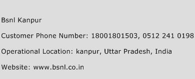 BSNL Kanpur Phone Number Customer Service