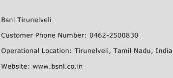 BSNL Tirunelveli Phone Number Customer Service