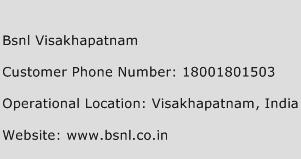 BSNL Visakhapatnam Phone Number Customer Service