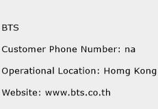 BTS Phone Number Customer Service