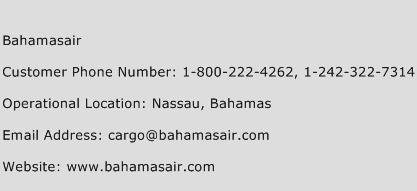 Bahamasair Phone Number Customer Service