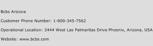 Bcbs Arizona Phone Number Customer Service