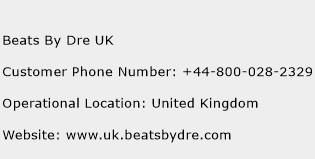 Beats By Dre UK Phone Number Customer Service