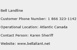 Bell Landline Phone Number Customer Service