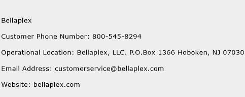 Bellaplex Phone Number Customer Service