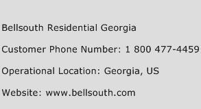 Bellsouth Residential Georgia Phone Number Customer Service