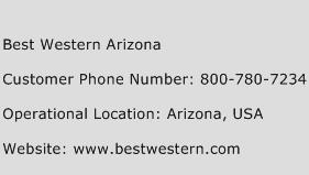 Best Western Arizona Phone Number Customer Service