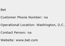 Bet Phone Number Customer Service