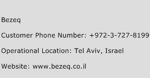 Bezeq Phone Number Customer Service