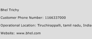 Bhel Trichy Phone Number Customer Service