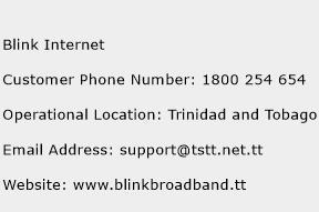 Blink Internet Phone Number Customer Service