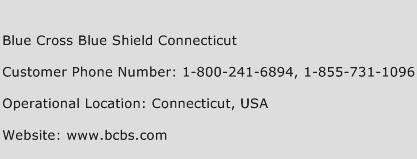 Blue Cross Blue Shield Connecticut Phone Number Customer Service