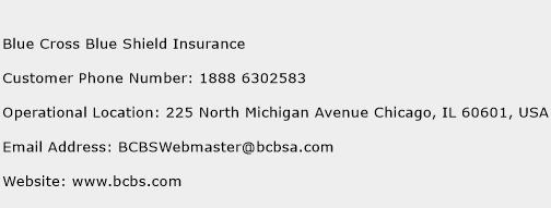 Blue Cross Blue Shield Insurance Phone Number Customer Service