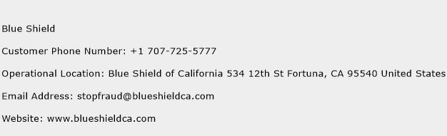 Blue Shield Phone Number Customer Service