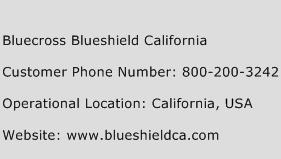 Bluecross Blueshield California Phone Number Customer Service