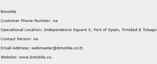 Bmobile Phone Number Customer Service