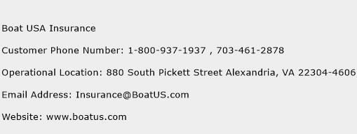 Boat USA Insurance Phone Number Customer Service