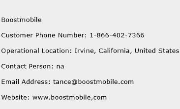 Boostmobile Phone Number Customer Service