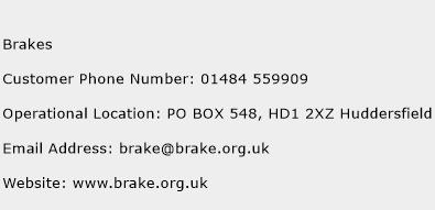 Brakes Phone Number Customer Service