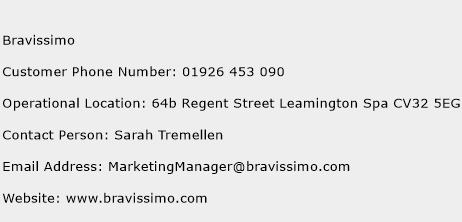 Bravissimo Phone Number Customer Service