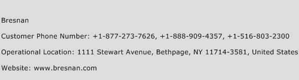 Bresnan Phone Number Customer Service