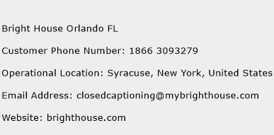Bright House Orlando Fl Customer Service Phone Number