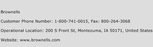 Brownells Phone Number Customer Service